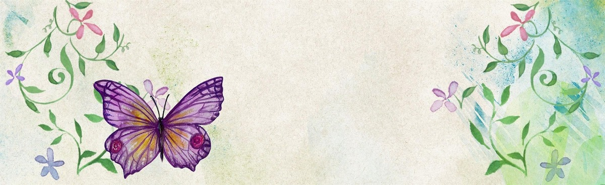Flower Butterfly Purple, Purple, Poster, Banner, Background image