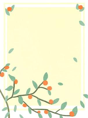 木の秋の木質植物維管束植物の背景 植物 イエロー 葉 背景画像