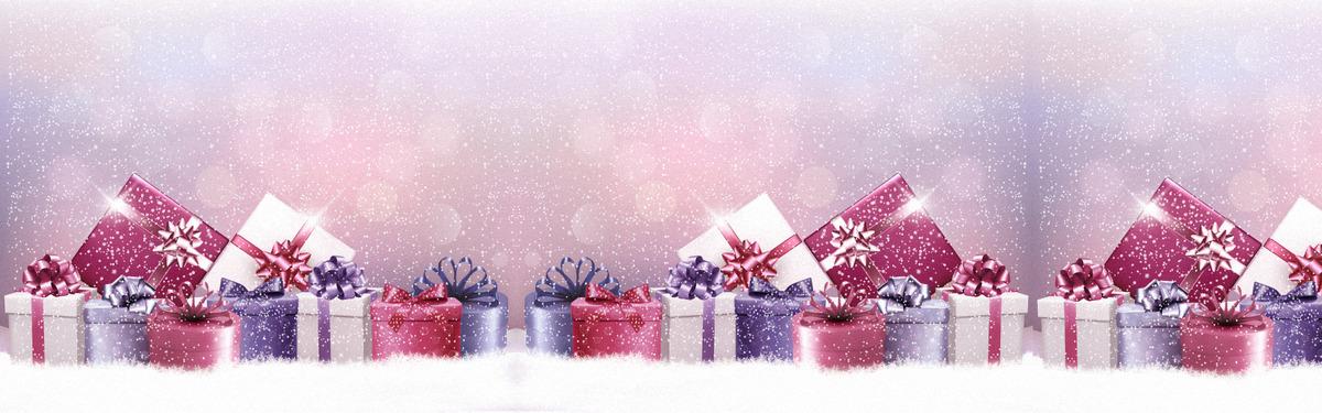 バングル装飾ギフト休日背景 季節 リボン プレゼント 背景画像