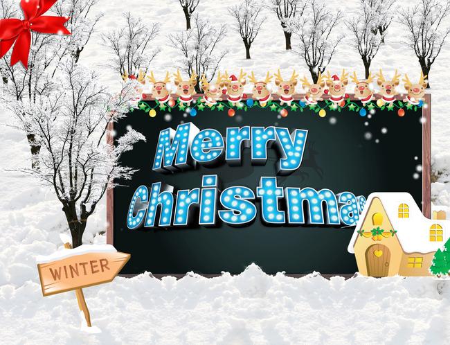 Snow White Background Christmas Poster, White, Snow, Christmas, Background image