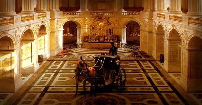 国家大聖堂の背景の王座の建築椅子 ビル 宗教 椅子 背景画像