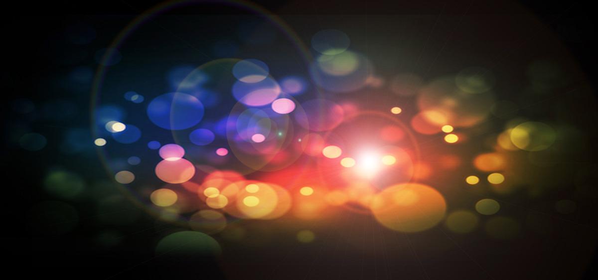 発光ダイオード点灯ダイオード装置の背景 ライト グロー ぼかし 背景画像