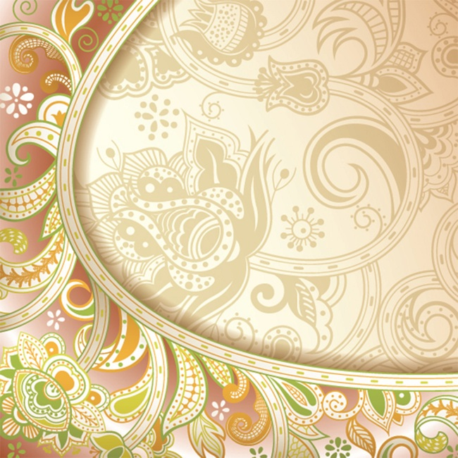Paisley Fabric Floral Pattern, Design, Wallpaper, Art, Background image
