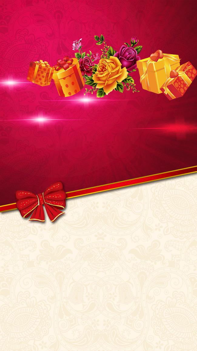 Nơ bướm cái thẻ quà tặng nền Những Ngày Lễ Hình Nền