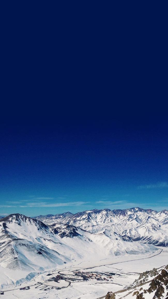 Langit Biru Pemandangan Latar Belakang Foto Langit Biru Pemandangan
