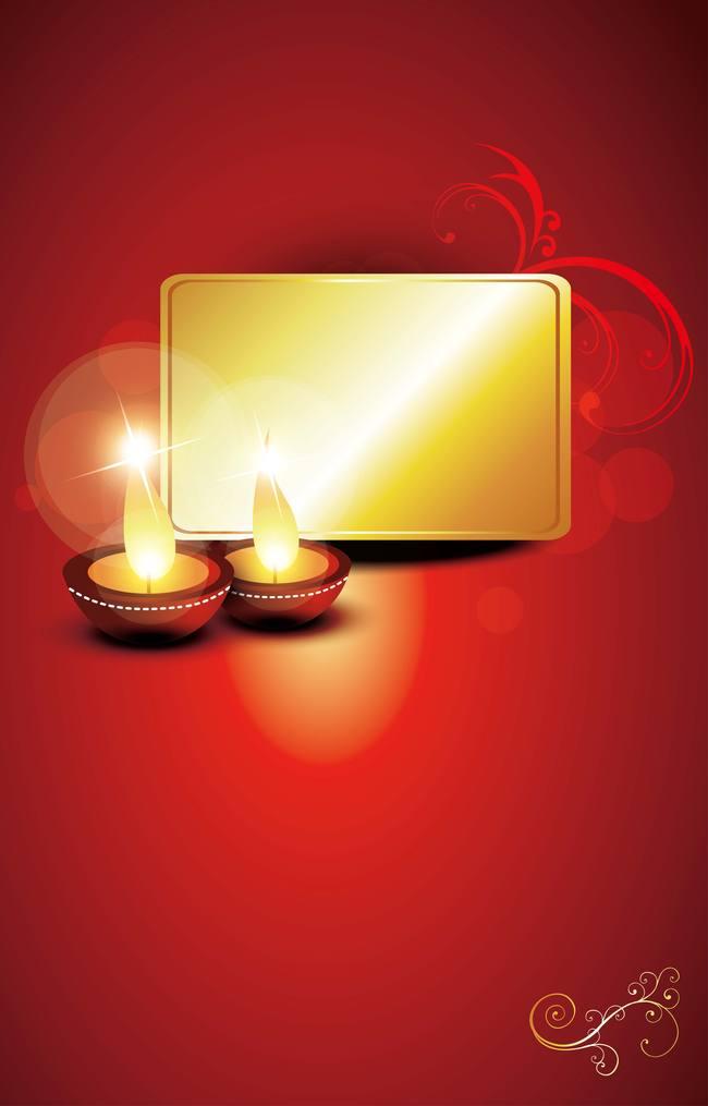 Happy Diwali Greetings Red Background Diwali Happy Diwali Diwali