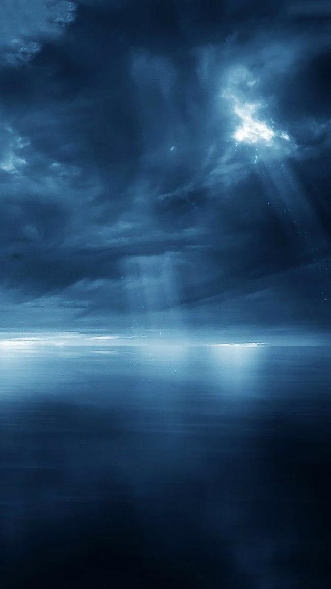 Sky Sea Ocean Sun Background, Clouds, Sunlight, Light, Background image