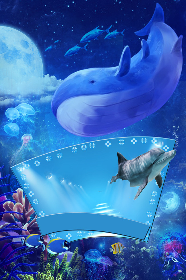 Fish Sea Underwater Ocean Background, Ray, Water, Marine, Background image