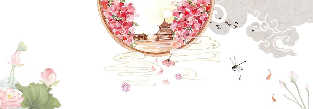 花のアートデザインの花の背景 装飾 葉の葉 装飾 背景画像