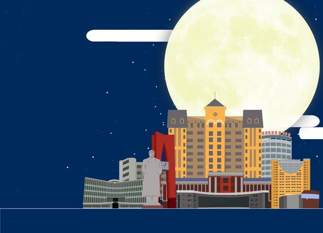 Sky City Background Urban Background, Building, Skyline, Planet, Background image
