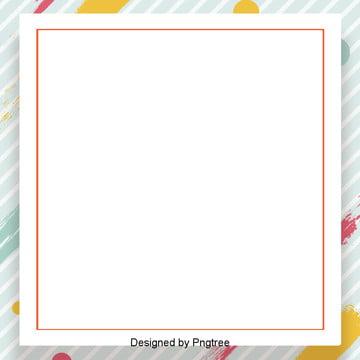 hình ảnh nền trắng có sọc màu cam ranh giới của khối lập phương , Cạnh Quảng Trường Cam, Sọc Trắng Ảnh nền