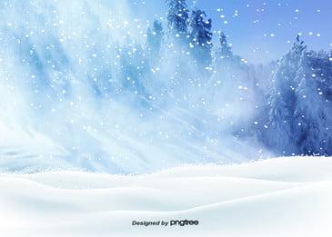 голубая снежная снеговика в зимнее время Cg идти вниз Фоновое изображение