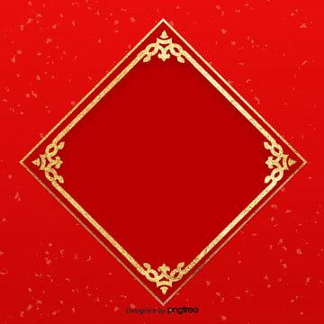 a imagem de fundo edge red squares pattern china , A Imagem De Fundo, Padrão De China, Red Imagem de fundo