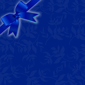 Blue bow silk bubbles Background Blue Gift Imagem Do Plano De Fundo