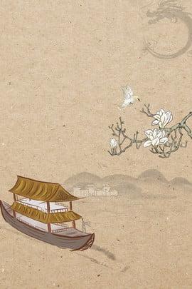 ब्राउन ढाल चीनी शैली बूढ़े , बूढ़े, ब्राउन, रेट्रो पृष्ठभूमि छवि