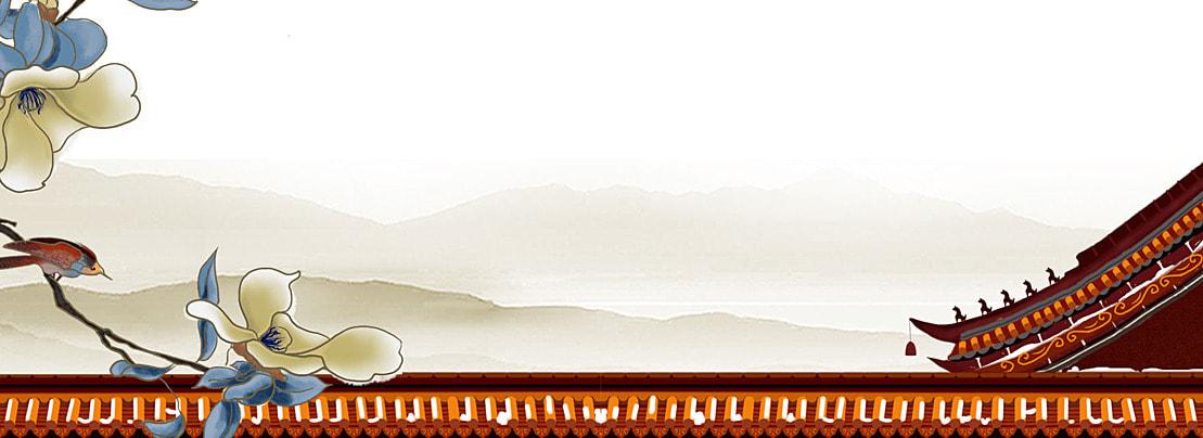 石橋 石柱 中式建築 扇子 中國風背景 石柱 扇子背景圖庫