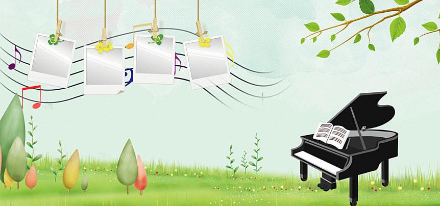鋼琴 相冊 相框 小清新, 小清新, 照片牆, 相冊 背景圖片