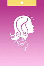 Cartoon Hairdressing Background Material Haircut Hairdressing Cartoon Background Image For Free Download