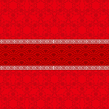 red background chinese style delicate pattern poster background template , Delicate Pattern, Delicate, Poster Template Фоновый рисунок