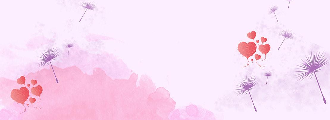 rotten hati berbentuk dandelion gambar ungu minimalism moden stereo 3d rama rama, Cinta, Poster, Psd imej latar belakang