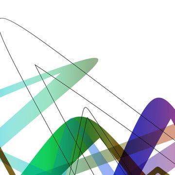 Simple red white lines Vector Streamline Lines Imagem Do Plano De Fundo