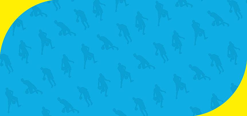 खेल सिल्हूट नीला पोस्टर, पृष्ठभूमि सामग्री, नीला, पृष्ठभूमि पृष्ठभूमि छवि
