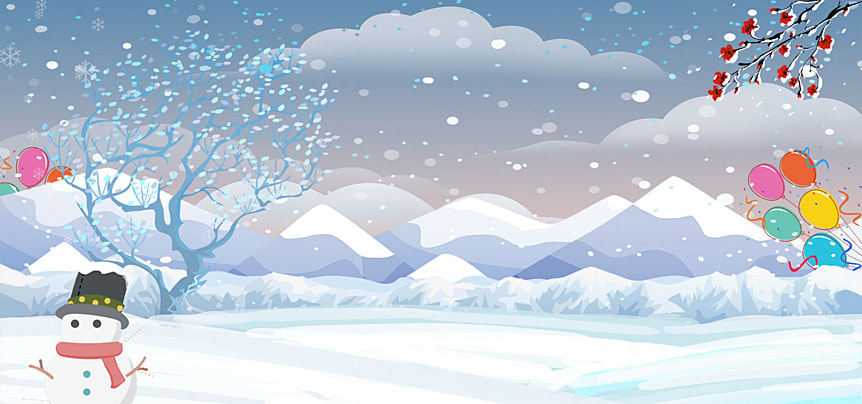 winter holiday part time poster blue fantasy background recruitment poster invite to join, Winter Vacation Recruitment, Winter, Light Effect Imagem de fundo