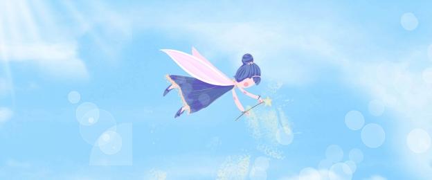 Fresh blue clouds children s desk calendar Fresh Poster Desk Imagem Do Plano De Fundo