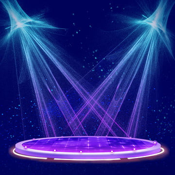 blue stage stage lighting song and dance party , Theater Performance Advertising Background, Stage, Party Фоновый рисунок