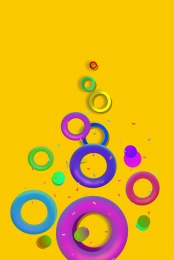 カラフルなサークル グラデーション 幾何学的な背景 クールなファンタジーの背景 , 背景のシェーディング, カラフルなサークル, 幾何学的な背景 背景画像