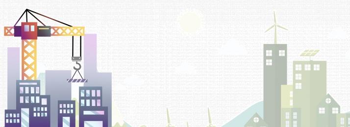 建物のタワークレーン画像のダウンロード シニアのホワイトカラー労働者 都市生活 安全標識 建設エンジニア 青い空と白い雲 建物タワークレーン都市生活ポスター背景素材 背景画像