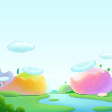 kẹo mẫu giáo hoạt hình kẹo màu dễ thương , Phích, Phim, áp Ảnh nền