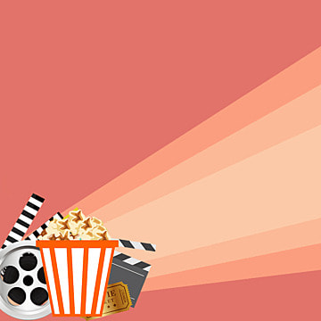 background cartoon flat flat cartoon cinema , Theater, Cinema, Screening Room Фоновый рисунок
