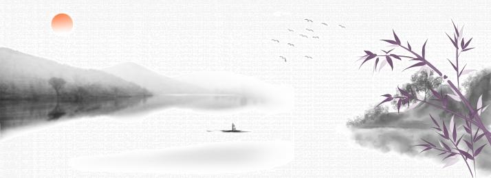 gaya cina lukisan dakwat buluh buluh, Buluh Buluh, Gaya, Burung imej latar belakang