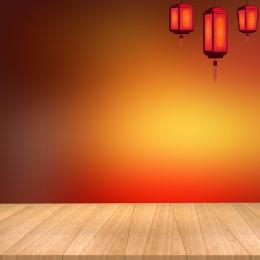 中華風 ランタン トーテム 赤い布 , 炊飯器, オーブン, 電化製品 背景画像