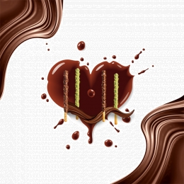White brown white chocolate splash Black Chocolate Splash Imagem Do Plano De Fundo
