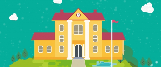 学校のアルバム かわいい 漫画の背景 子供の絵 , かわいい, 絶妙なアルバム, かわいい子供の描画スタイル教育アルバムポスターベクトルの背景素材 背景画像
