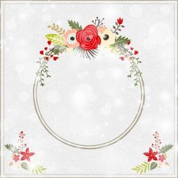 夢幻 圓形 邊框 花朵 , 邊框, 海報, 夢幻圓形邊框花朵背景 背景圖片