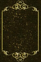 Gold pattern texture border Gold Black Golden Imagem Do Plano De Fundo