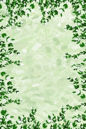 green jungle poster background material , Green, Jungle, Original Background image