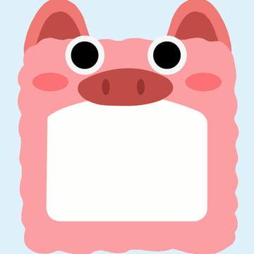 手繪 卡通 動物 粉色 , 背景, 動物, 手繪卡通動物粉色邊框背景素材 背景圖片