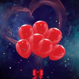 love heart heart shape balloon , I, Love, Silk Ribbon Imagem de fundo