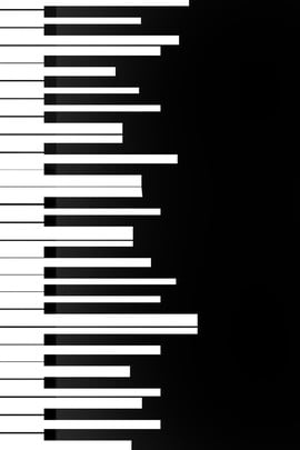 black and white piano piano keys concert posters , Exquisite Albums, Concert Posters, Piano Keys Imagem de fundo