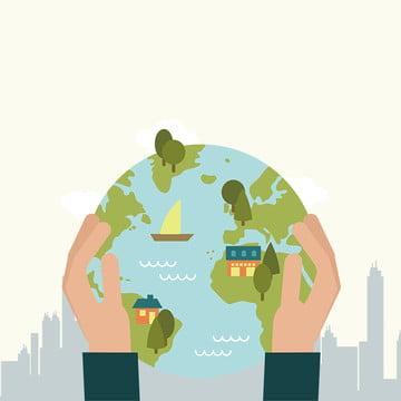 public welfare environmental protection green save the earth , Energy, Low Carbon, Public Welfare Poster Imagem de fundo