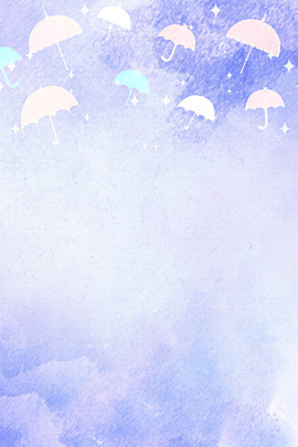 purple matte cartoon umbrella , Stars, Cartoon Character, H5 Imagem de fundo