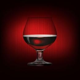 रेड ब्लैक ग्रेडिएंट वाइन वाइन ग्लास , वाइन, गोबलट, काले पृष्ठभूमि छवि