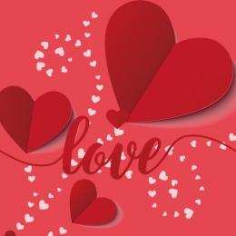 赤 ローズ ロマンチック バレンタイン , ローズ, バレンタインのテーマ素材, ハート 背景画像