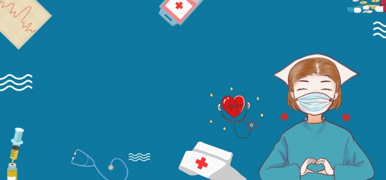 kreatif perubatan ilustrasi jururawat, Jururawat, Ilustrasi, Pil imej latar belakang