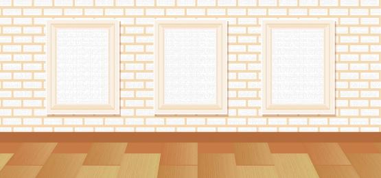 वेक्टर ग्रे कार्टून शोरूम, ग्रे, प्रदर्शनी, फर्श पृष्ठभूमि छवि