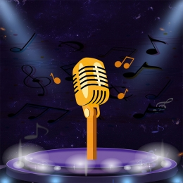 trend music stage microphone , Stage Background, Material, Trend Фоновый рисунок
